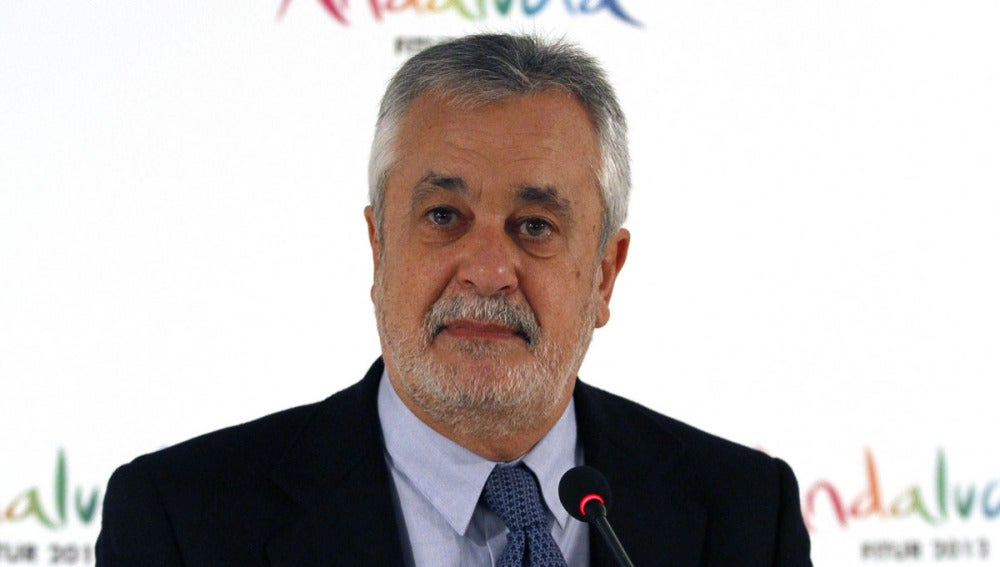 El presidente de Andalucía, José Antonio Griñan