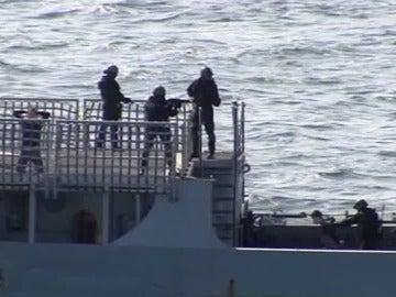 Prisión para los piratas somalíes