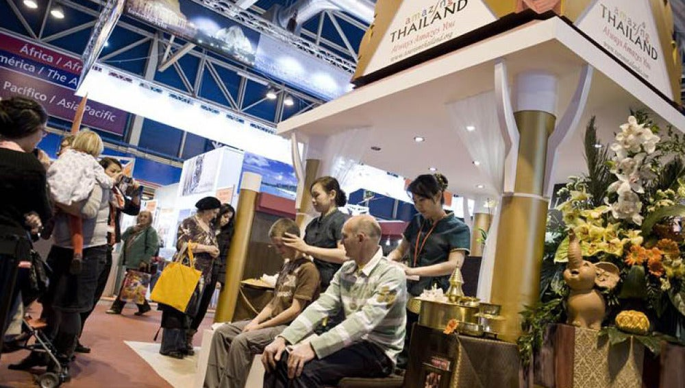 Pabellón de Tailandia en la Feria de FITUR