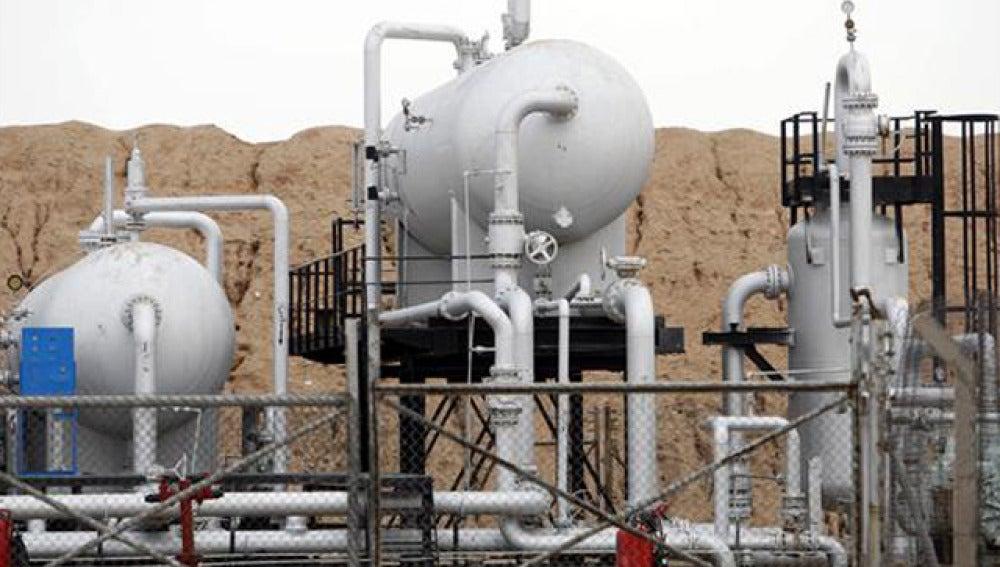 Instalación petrolera en Irán