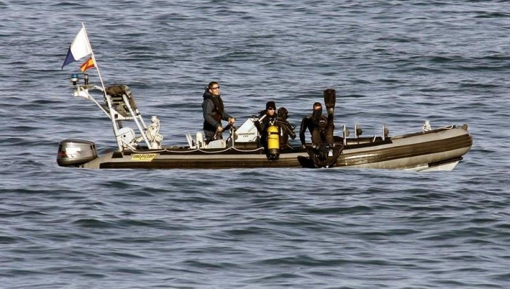 Continúa la búsqueda de los tres desaparecidos en La Coruña