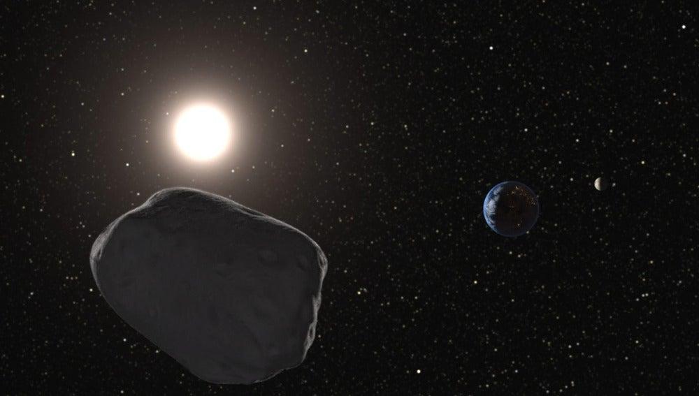 Un asteroide cercano a la Tierra
