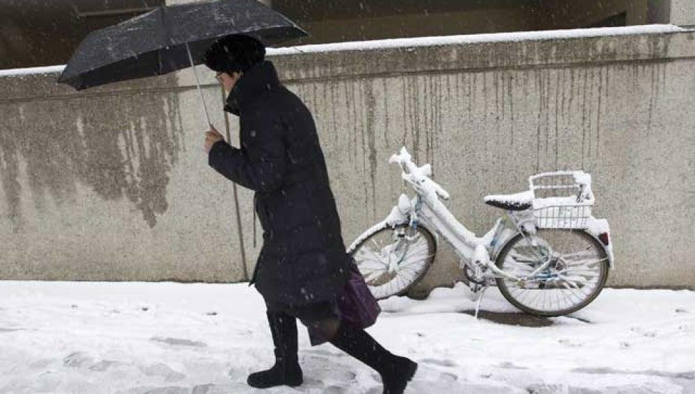 Temporal de nieve en Suiza