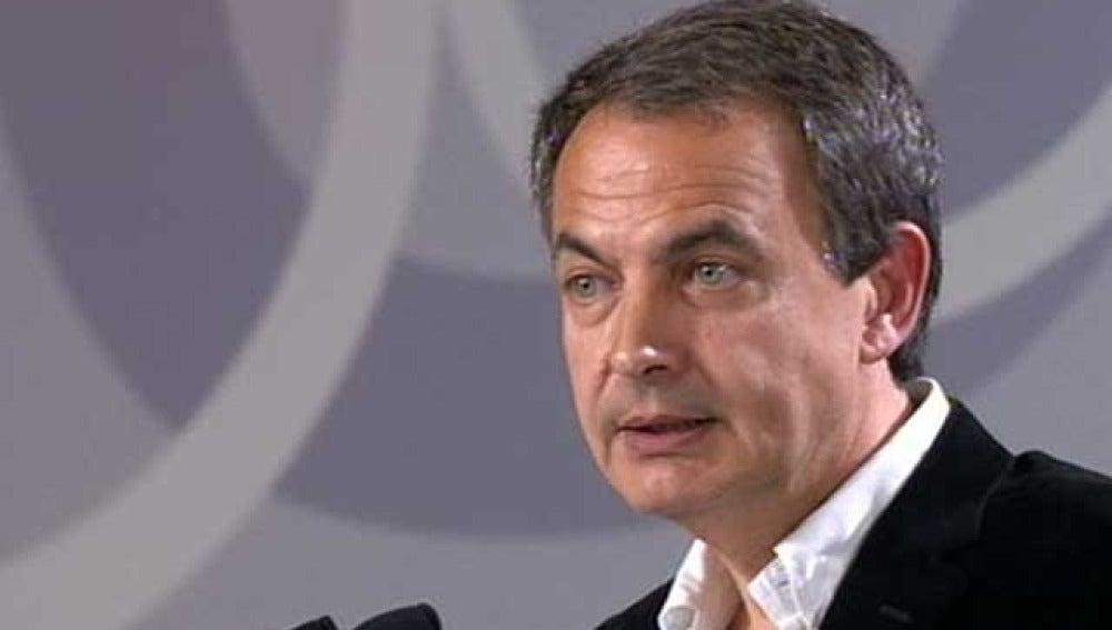 Rodríguez Zapatero en el Congreso del PSOE