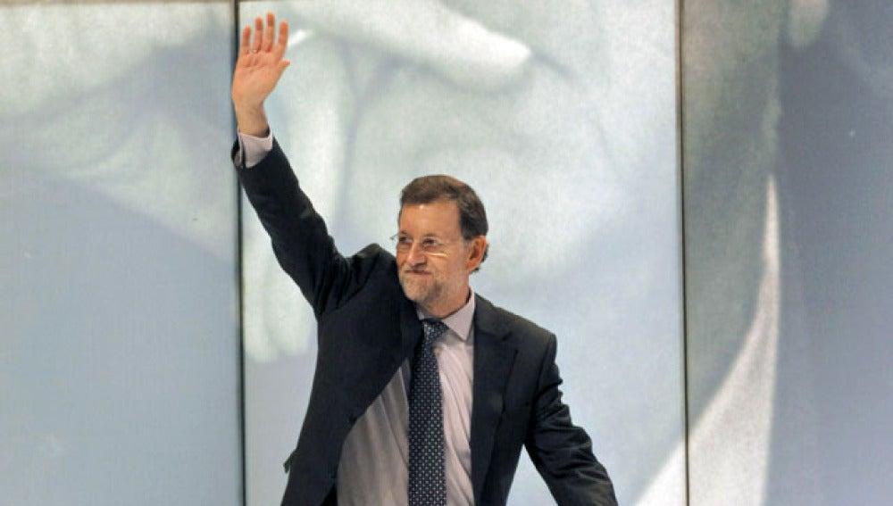 Mariano Rajoy en el homenaje a Manuel Fraga