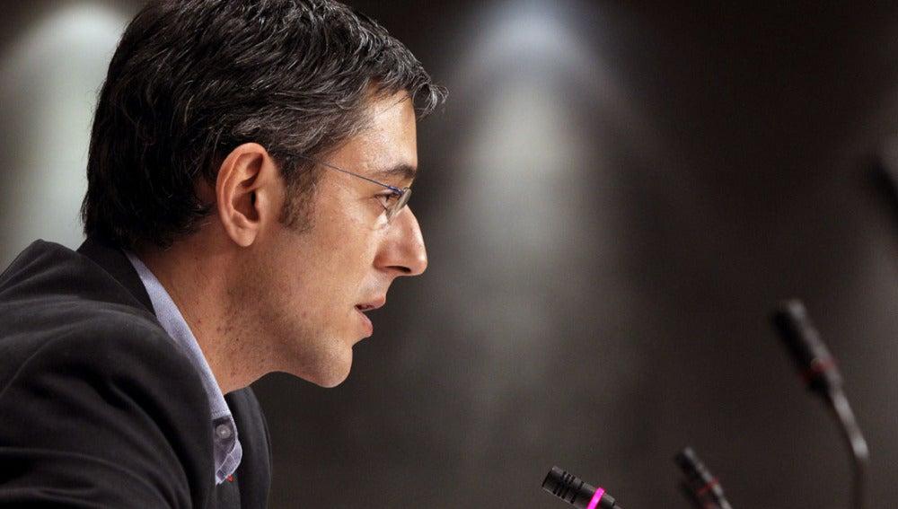 Eduardo Madina, secretario general del grupo socialista en el Congreso