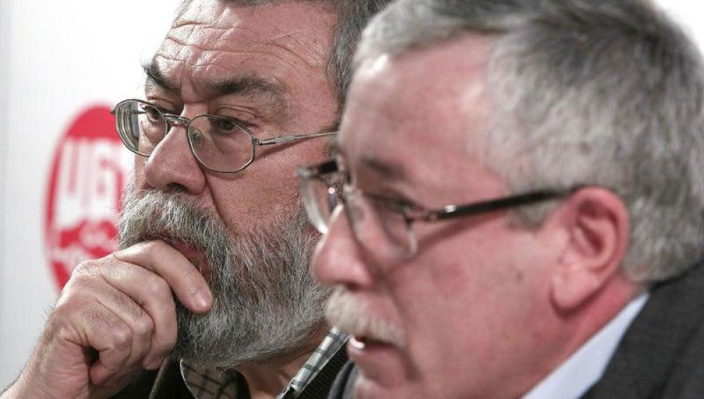 Cándido Méndez y Fernández Toxo
