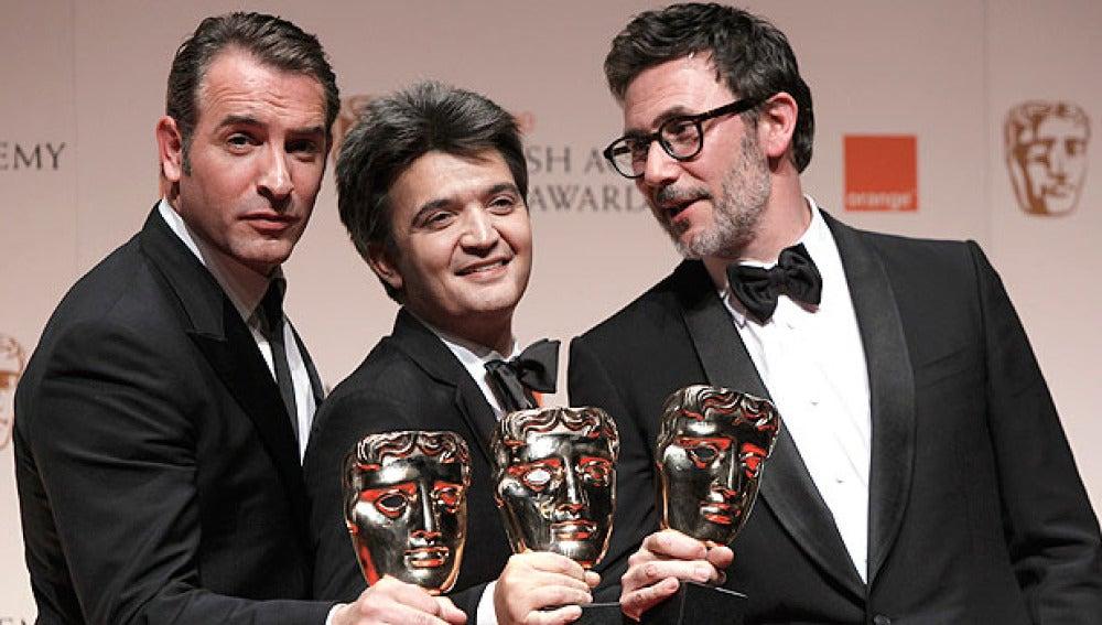 The Artist, triunfadora de los BAFTA