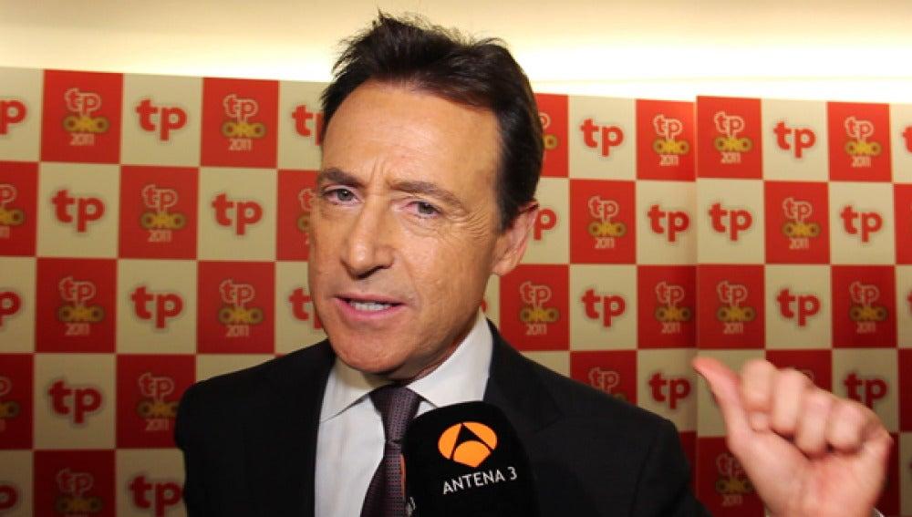 Matías Prats en los premios TP.