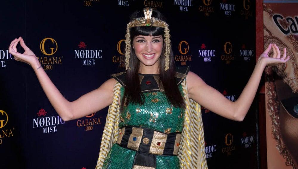 Noelia López, una guaperrísima Cleopatra