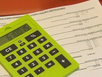 Calculadora y deudas