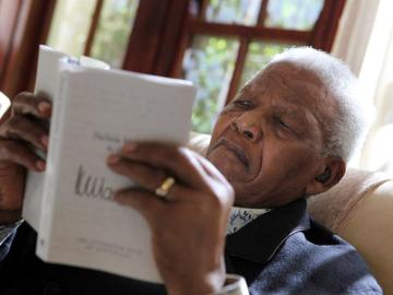 Nelson Mandela, expresidente de Suráfrica