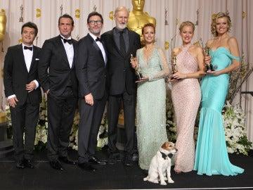 'The Artist', la gran triunfadora de los Oscar 2012