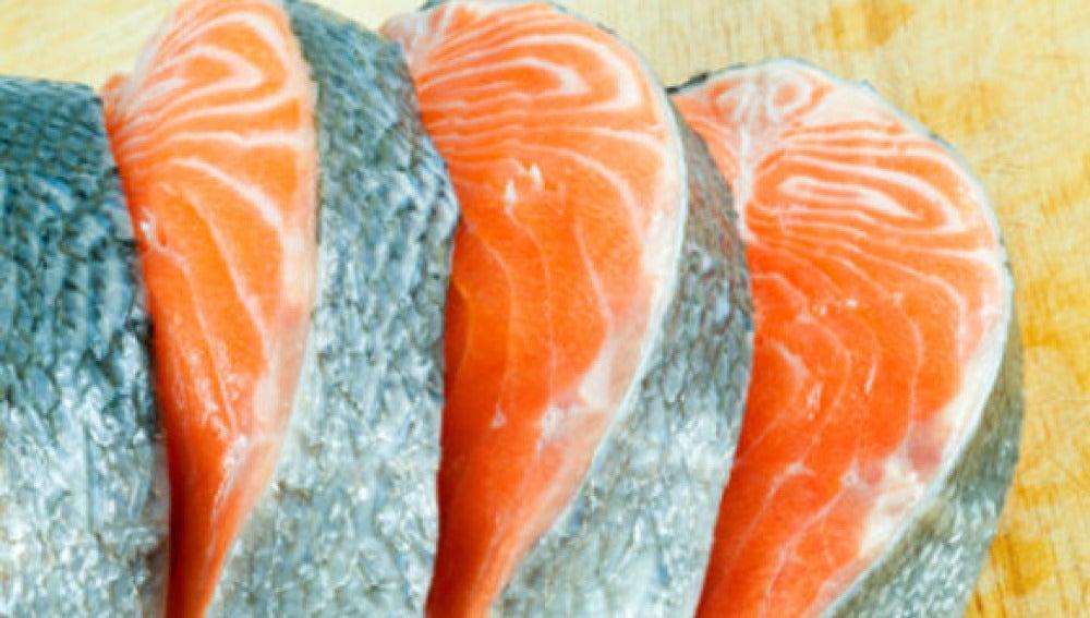 Salmón, pescado azul rico en Omega 3