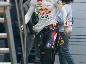 Mark Webber, piloto de Redbull
