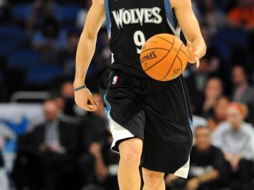 Ricky manejó el ttimón de los Timberwolves