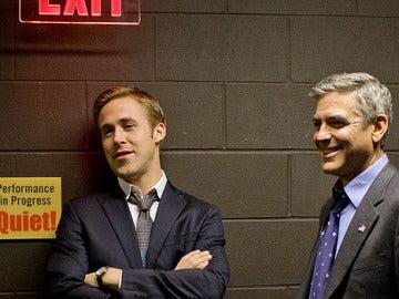 Ryan Gosling y George Clooney, protagonistas de 'Los idus de marzo'