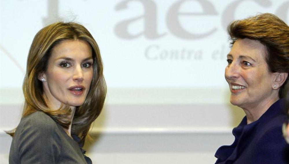 Letizia presenta la nueva campaña de la Asociación Española contra el cáncer