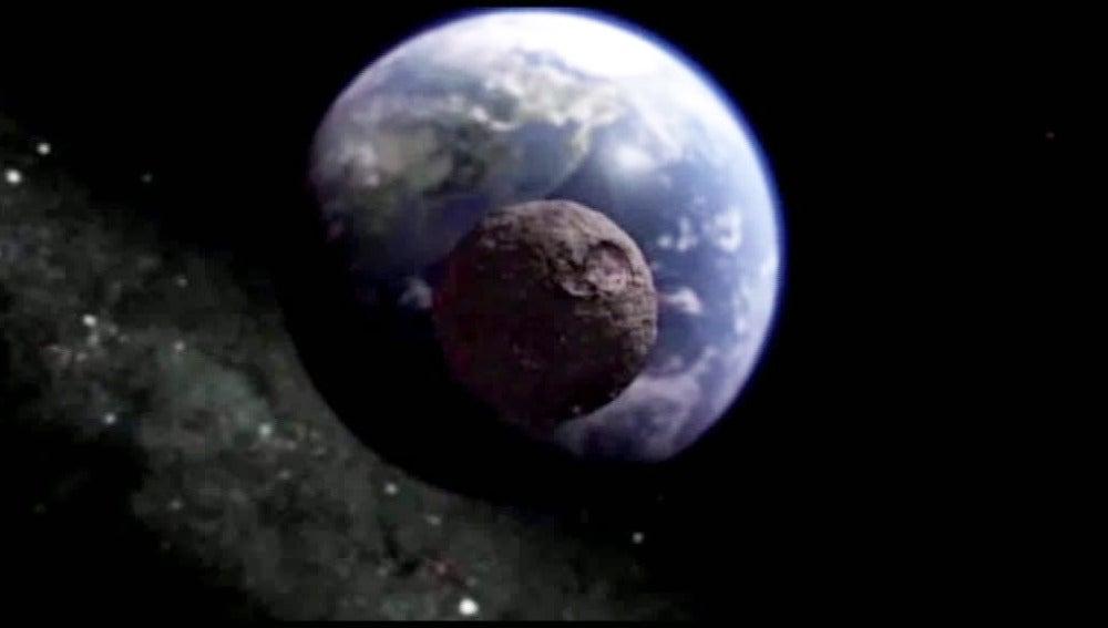 Un asteroide rozará la tierra en 2013