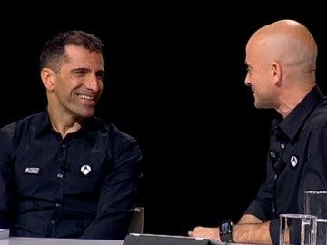Marc Gené durante la presentación de la Formula 1 en Antena 3