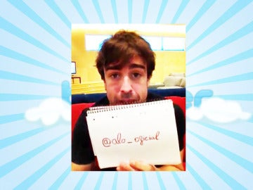 Fernando Alonso se presenta en las redes sociales.