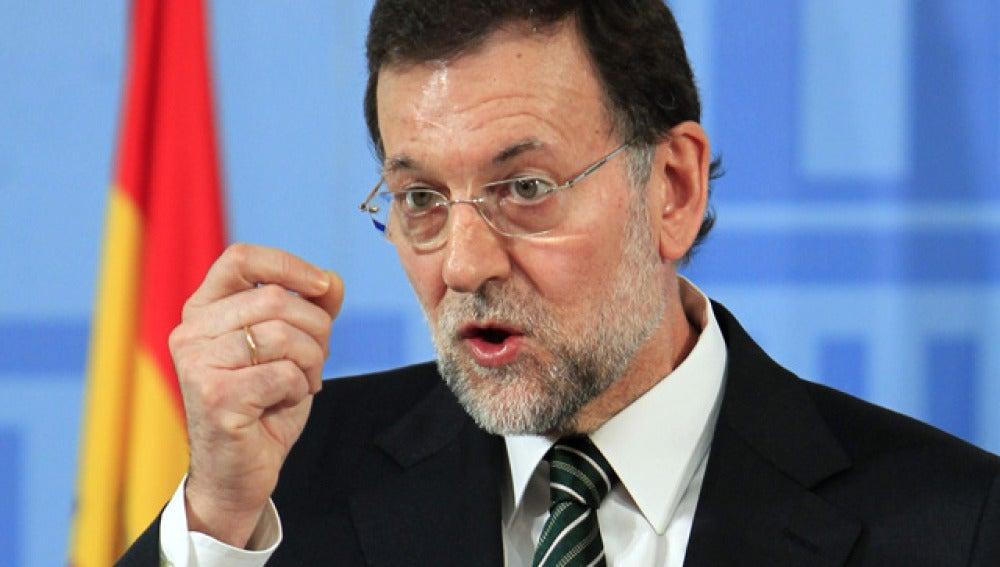 Mariano Rajoy, frente a los proveedores