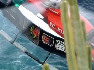 Buscan a un pescador que cayó al agua en la costa de Santa Úrsula