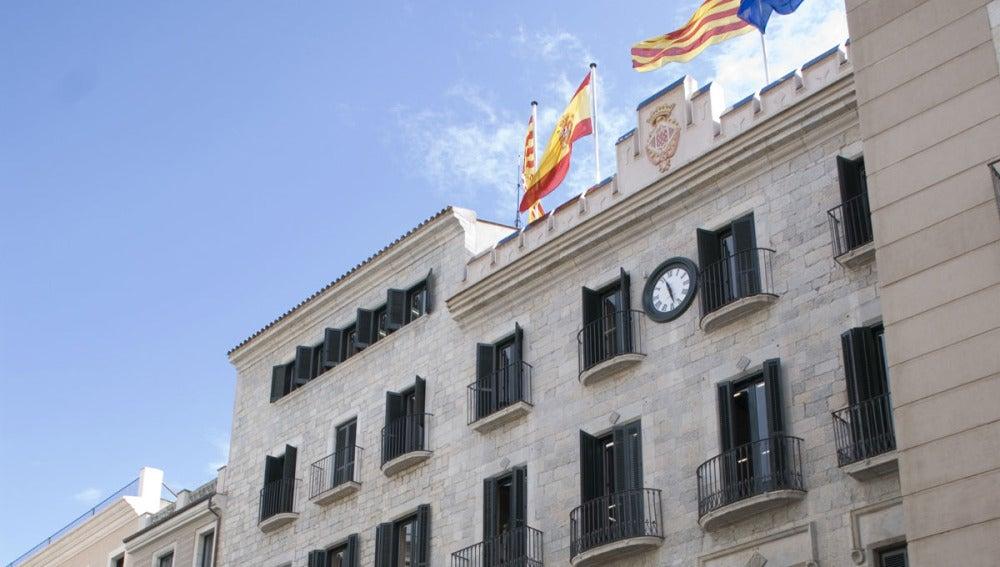Edificio del Ayuntamiento de Girona