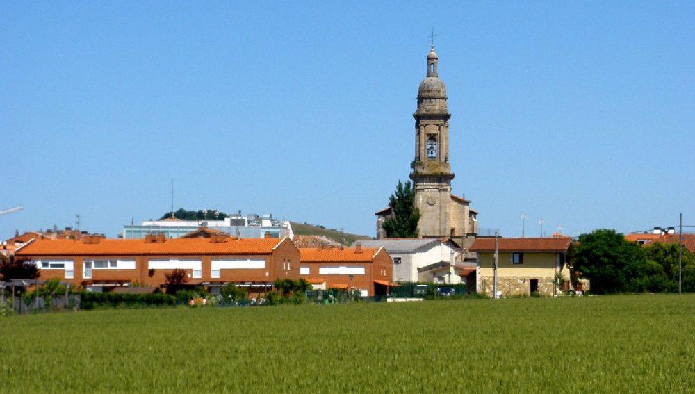 Iglesia de San Blas en Alegría-Dulantzi