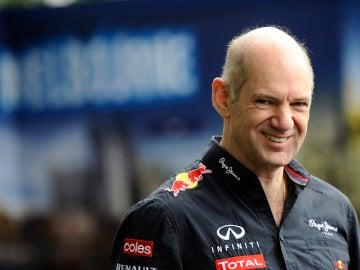 Adrian Newey, ingeniero jefe de Red Bull