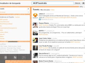 La Fórmula 1, trending topic en Twitter