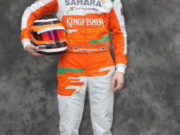El piloto alemán Nico Hulkenberg