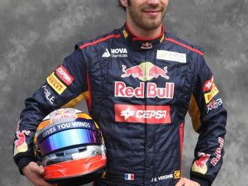 El piloto francés Jean-Éric Vergne