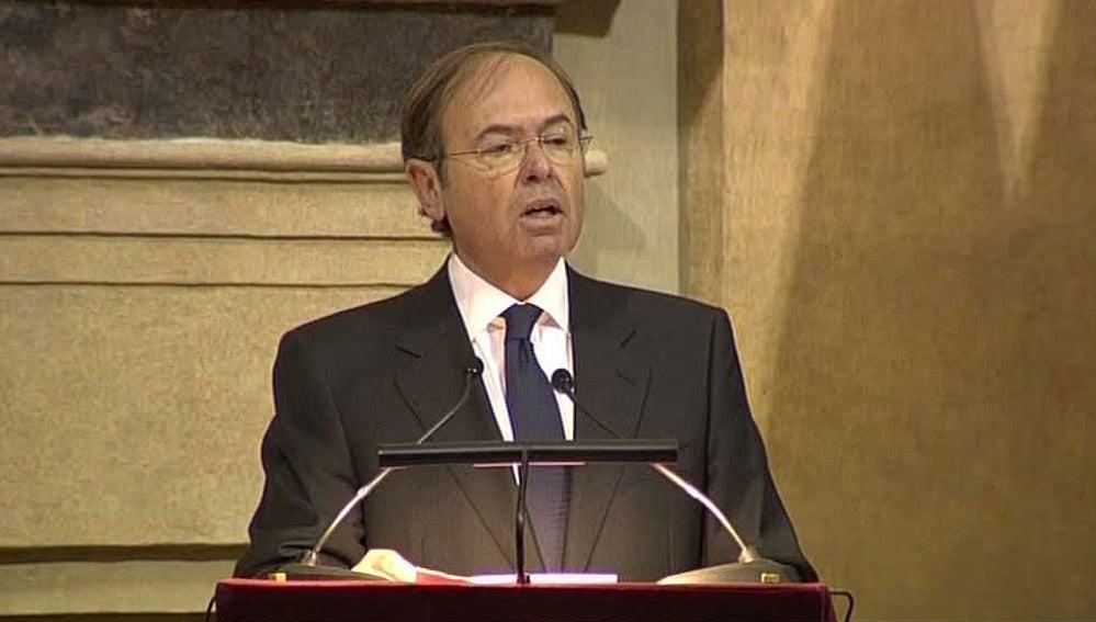 Pío García Escudero en el bicentenario de 'La Pepa'
