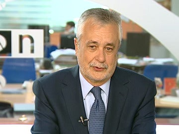 José Antonio Griñán, en una entrevista en Espejo Público