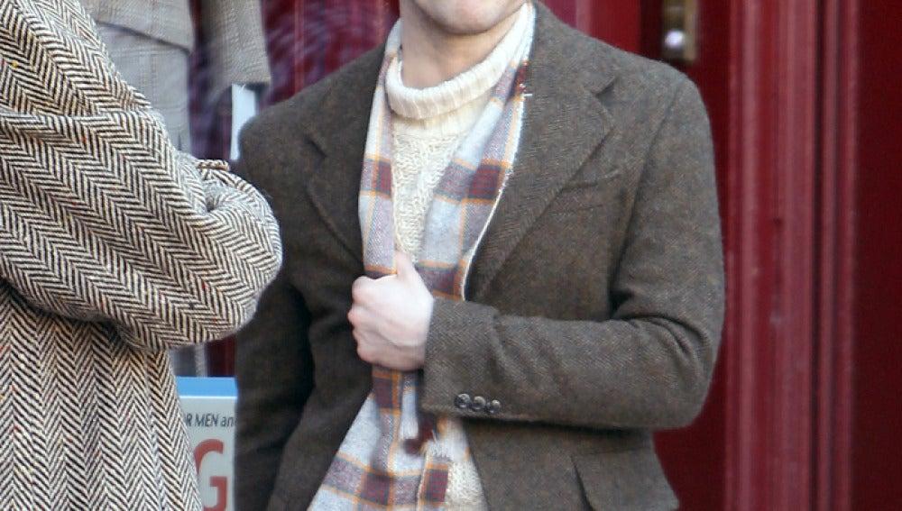 Radcliffe es el poeta Allen Ginsberg