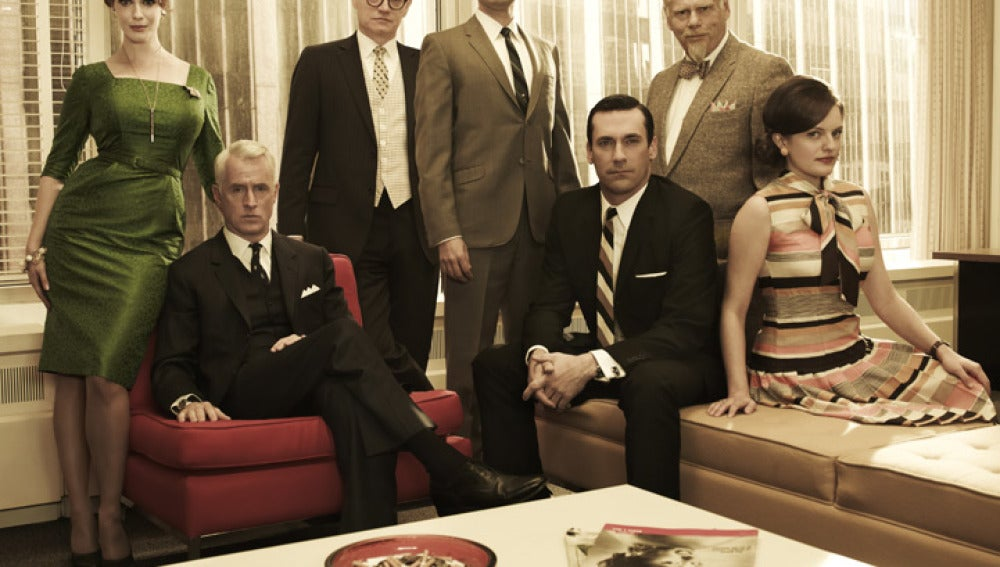 Los protagonistas de Mad Men