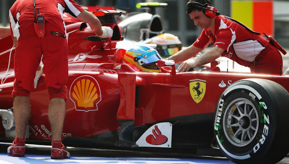 Fernando Alonso en Sepang