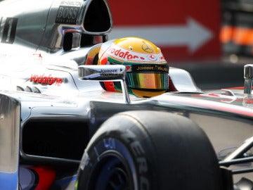 Lewis Hamilton en Sepang