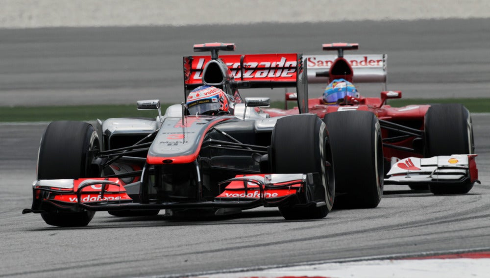Alonso y Button, en Sepang