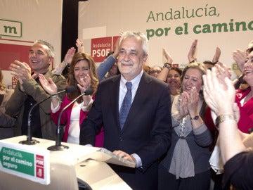 """Griñán: """"Hemos vuelto a dar la vuelta a las encuestas"""""""