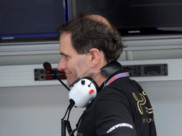 Luis Pérez Sala, feliz con el resultado de sus pilotos
