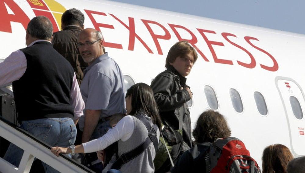 Primer viaje de Iberia Express