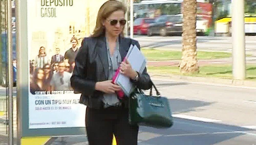 La infanta Cristina regresa a España por motivos de trabajo