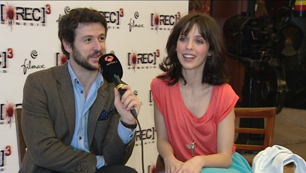 Diego Martín y Leticia Dolera protagonizan 'Rec 3'