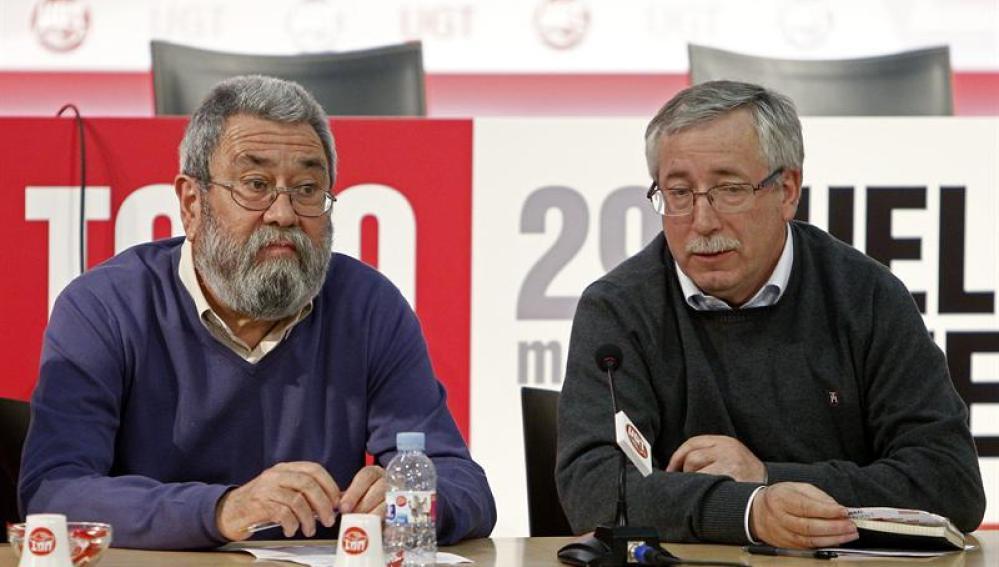 Representantes de sindicatos