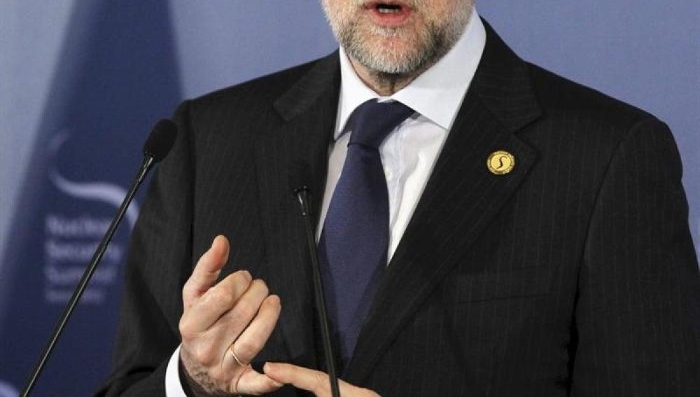 Mariano Rajoy, en Seúl