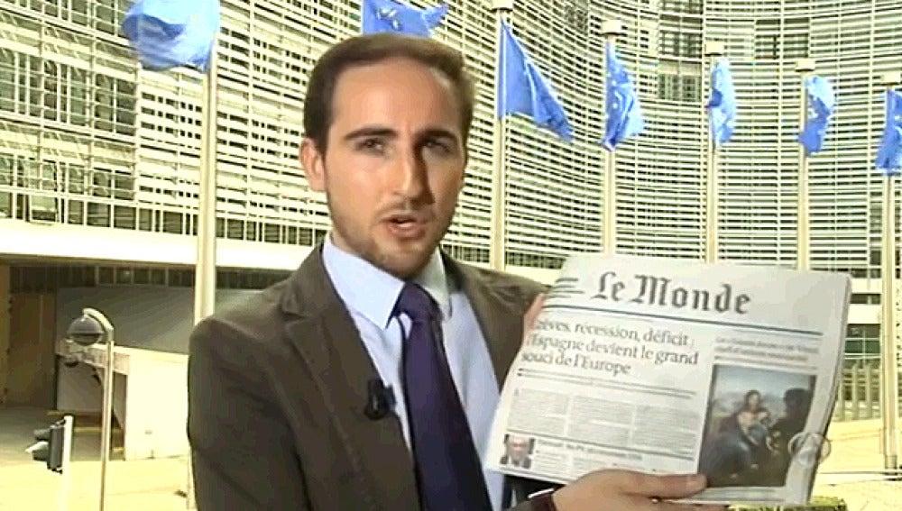 Guillermo Pascual con 'Le Monde'