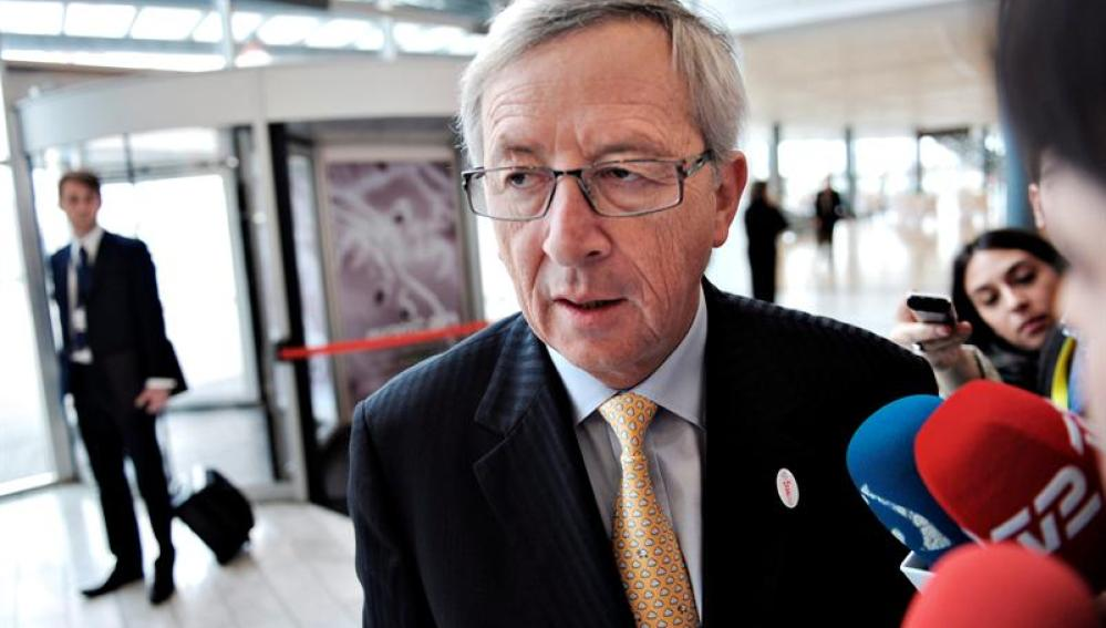 El primer ministro luxemburgués, Jean-Claude Juncker