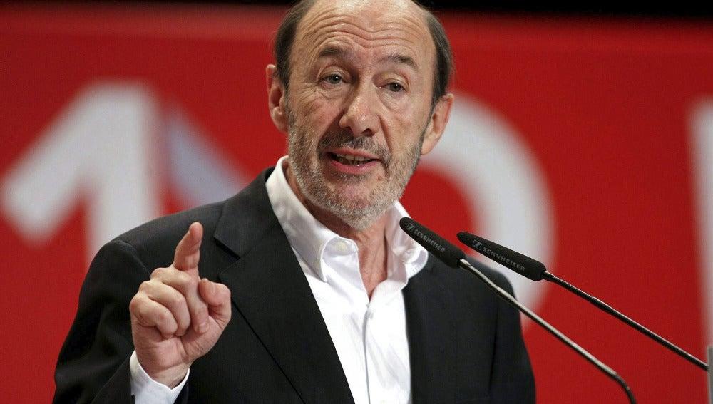 Alfredo Pérez Rubalcaba en Alicante